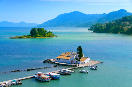 Mouse island Corfu, Greece