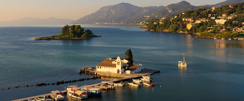 Mouse Island, Corfu, Greece