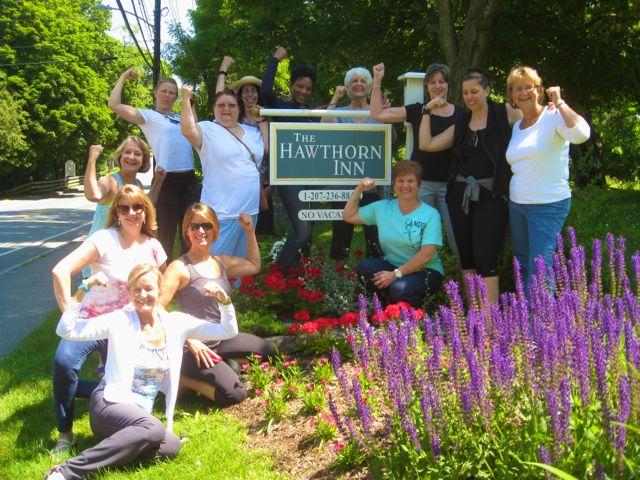 Women's wellness retreat in Maine