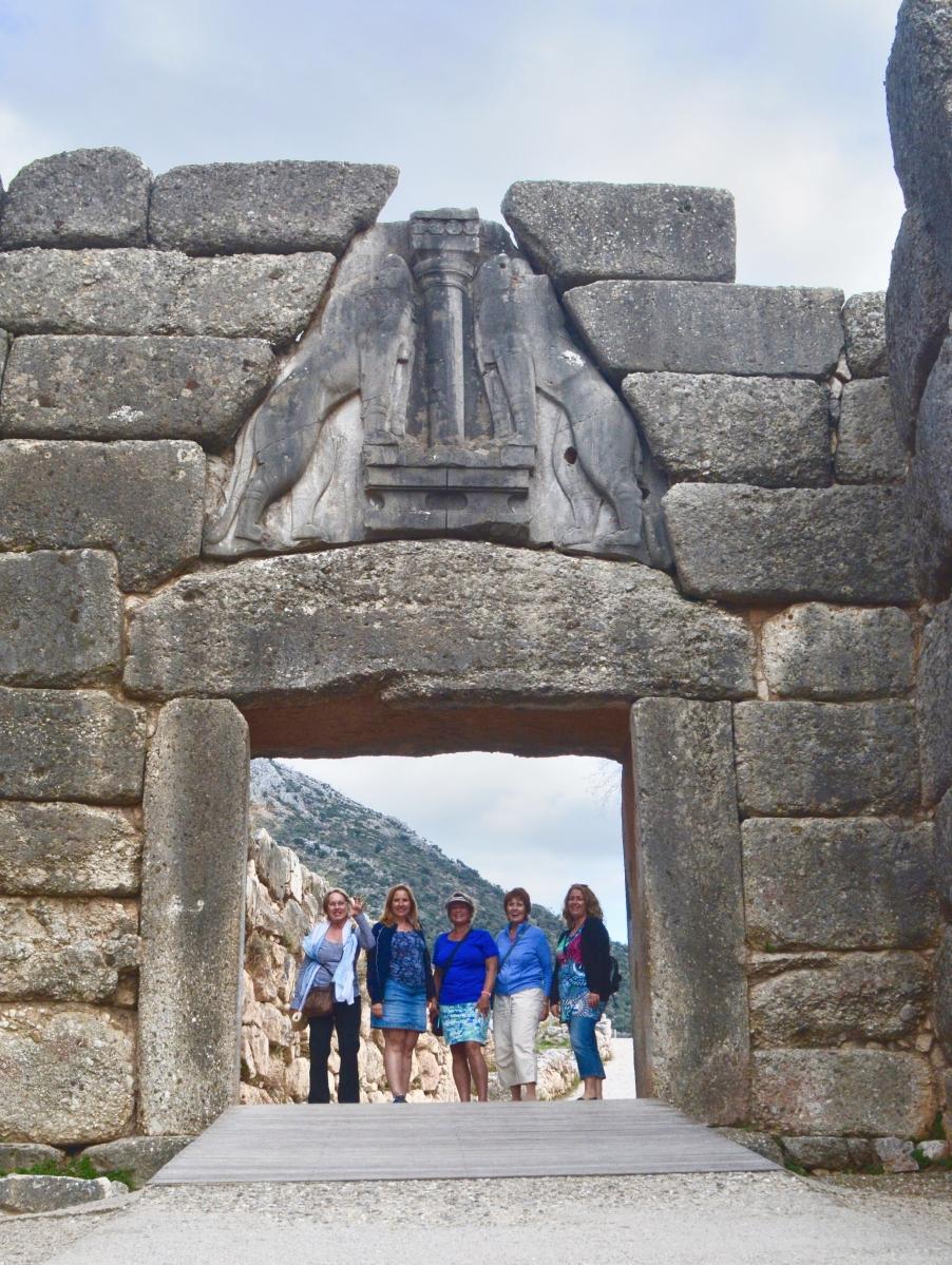 Lion Gate at Mycenae 13th century BCE