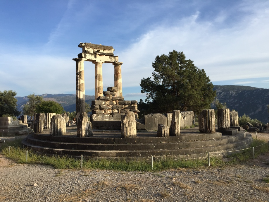 Sanctuary of Athena Pronaia at Delphi, Greece