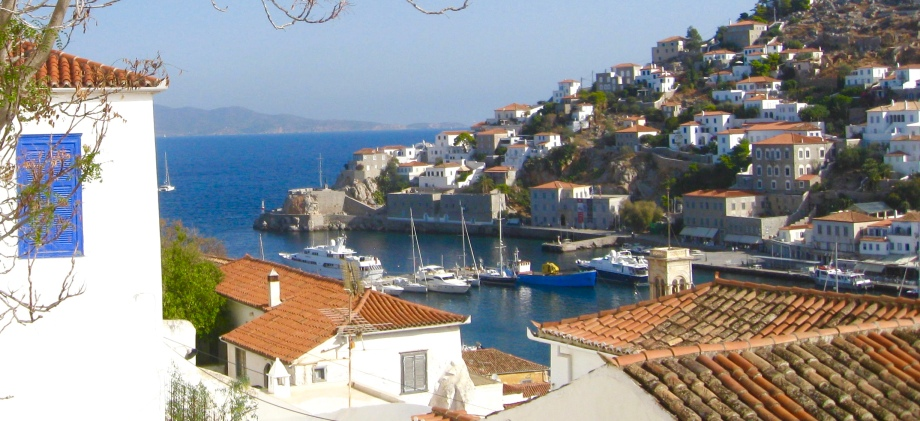 Travel to Hydra, Greece